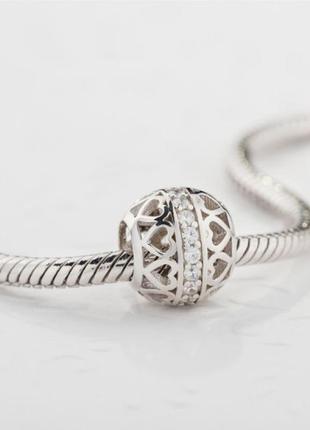 Шарм серебро 925 в стиле пандора  п037