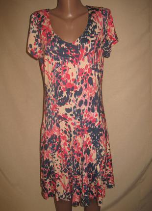 Вискозное платье south р-р14