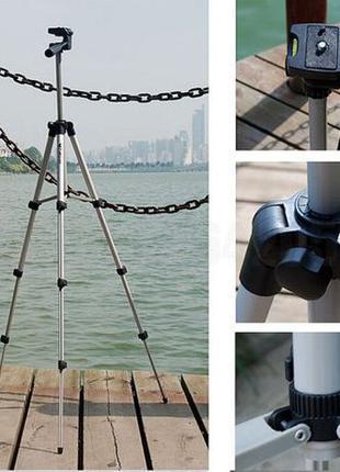 Штатив Tefeng TF-3110 + крепление для смартфона