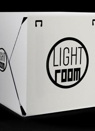 Фотобокс, лайткуб, LIGHT ROOM с LED для предметной с съемки.Ор...