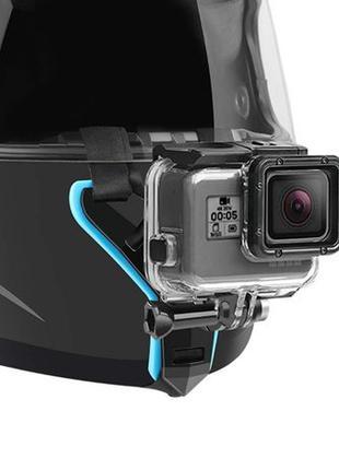 Крепление на шлем Chin Mount для экшн камеры GoPro SJCAM Xiaomi