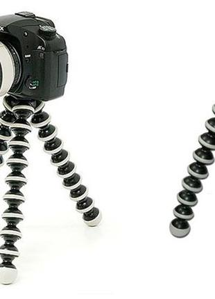 Универсальный гибкий штатив 24см. для камер и экшн камер Goril...