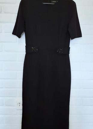 Облегающее платье миди лакби lakbi 46 размер
