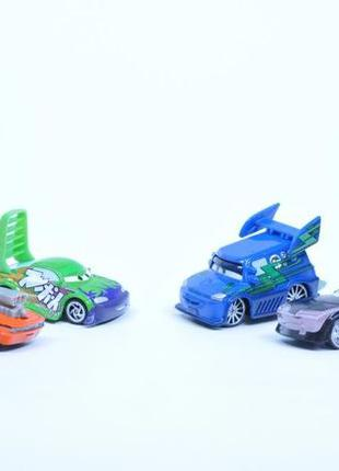 Машинки Тачки Тачки2 Cars (mattel) Диджей, Сморкач, Франческо ...