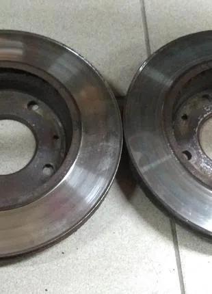 Тормозные диски Hyundai Matrix Хендай Матрикс 2008 оригинал