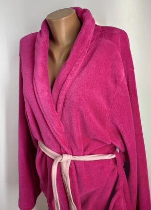 Женский мягкий короткий халат размер xl