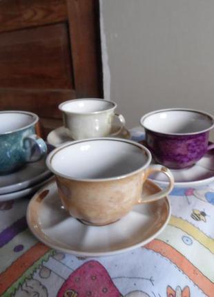Коростень 4 кавові чашки