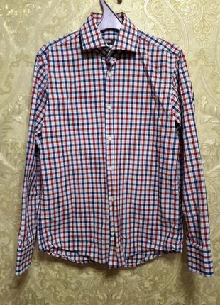 Рубашка hugo boss original regular fit оригинал хьюго босс