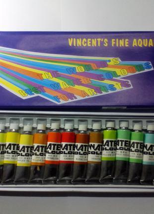 Краски акварель, профессиональные