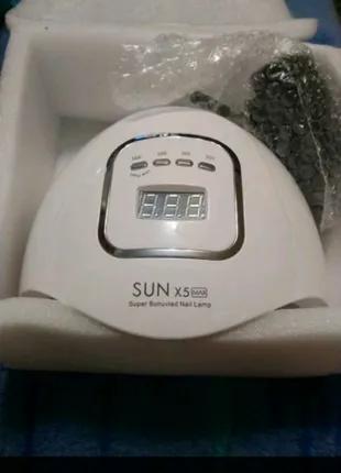 UV-LED лампа для маникюра Sun X5 MAX 80 Вт