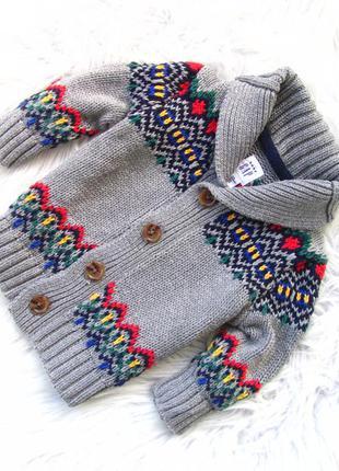 Стильная теплая кофта свитер реглан gap