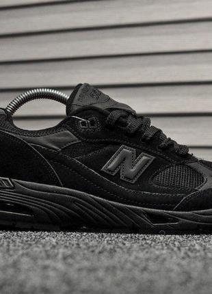 New balance 991 black, кроссовки мужские нью беленс демисезонн...