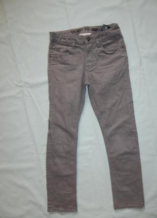 H&m джинсы стильные модные skinny fit на мальчика 10-11 лет ро...