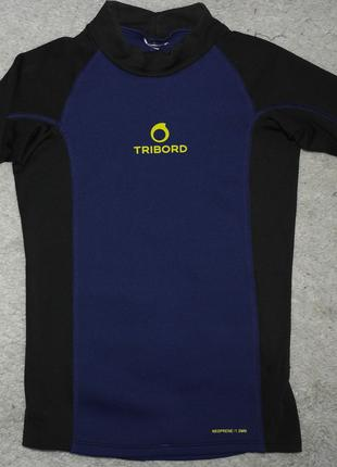 tribord неопреновая футболка сноркелинг плаванье 1,5 мм уф защита
