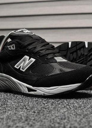 Мужские кроссовки весна-осень new balance 991 black