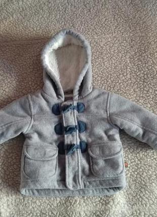 Распродажа 🔥 стильное флисовое пальто куртка на меху bluezoo
