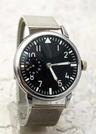 Часы механические наручные Молния ЧК-6 СССР Стеклянная крышка