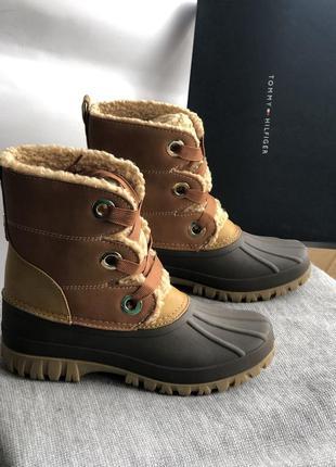 Зимние дакбуты, непромокаемые ботинки бренд