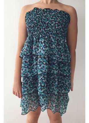 Платье, плаття, сукня, цветочный сарафан.