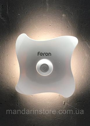 Светильник-ночник с датчиком движения Feron KN01