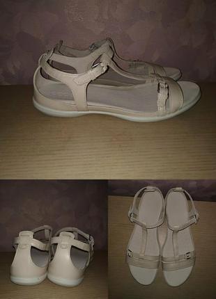 Босоножки 42 р кожа сандалии большой размер