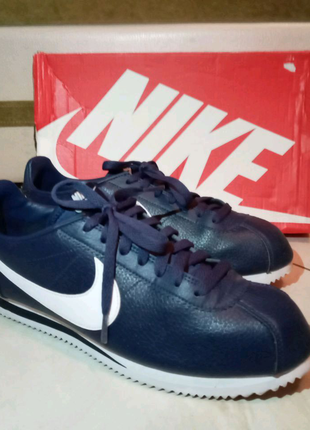 Продам Nike Cortez Classic leather blue 749571-414. 43 размер