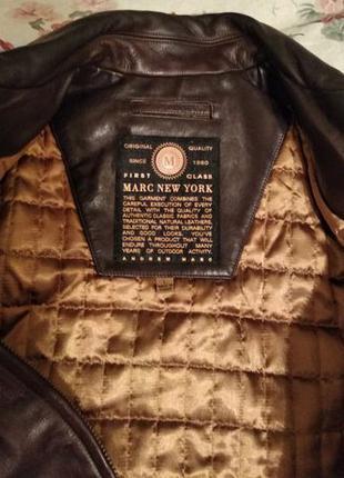 Элитная кожаная куртка MARC NEW YORK by Andrew Marc 600$