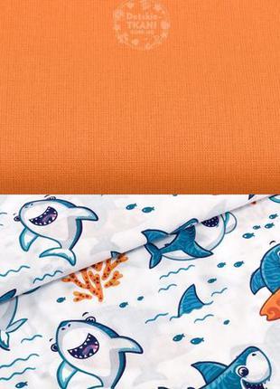Постель детская и подростковая «Акулы»