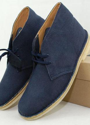 42/44.5 р, Clarks fabric мужские ботинки дезерты оригинал ботинки