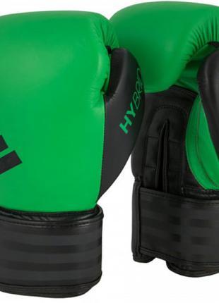 Боксерские Перчатки Adidas Hybrid 200 Solar Lime/Black