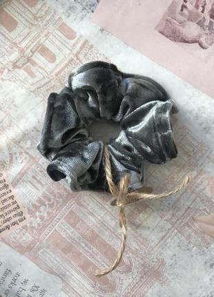 Бархатная резинка для волос/скранчи