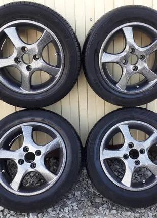 Всесезонные колёса в сборе R14 175/65 4X100, комплект колес.