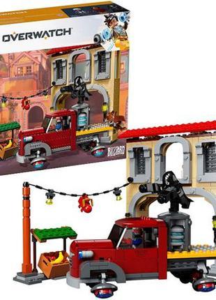 LEGO Overwatch Бой Дорадо, 419 деталей