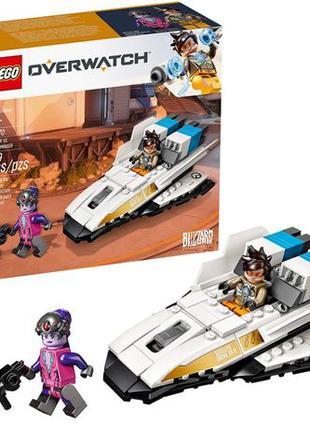LEGO Overwatch Трейсер против Роковой вдовы, 129 деталей