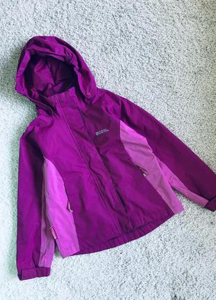 Куртка ветровка на девочку 7-8 лет