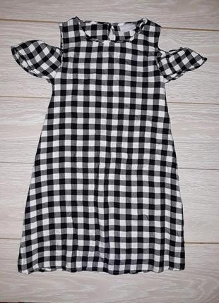 Лёгенькое летнее платье matalan на 8-9 лет