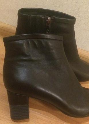 Шкіряні чобітки ботінки wilmar италия
