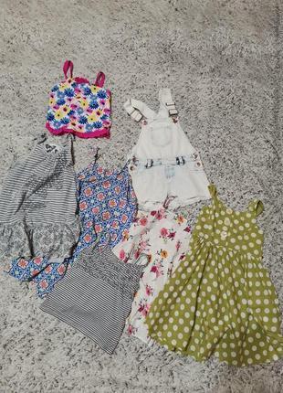 Пакет летней одежды на 5-6 лет, 7 шт