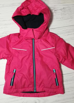 Термо куртка всесезонная 74-80 impidimpi, германия, курточка