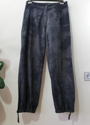 Брюки штаны с низу на утяжке philosophy