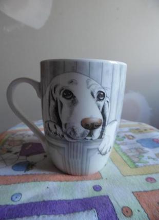 Чашка з песиком
