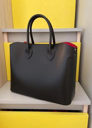 Женская кожаная сумка италия кожа натуральная есть все лого  i...
