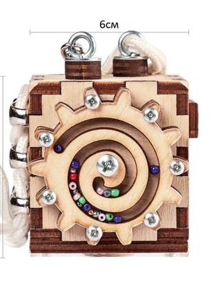 Бизикуб Smart Busy Cube настольная развивающая игра мини кубик из