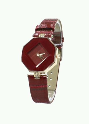 Женские часы Rowng Геометрия Red