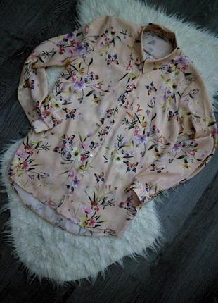 Нереально красивая нежная блуза в цветочный принт😍