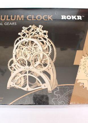 Механический 3D пазл - маятниковые часы Robotime, новый, 170 д...