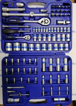 Набор инструментов 94 единицы Тайвань, оригинал King Roy, мета...