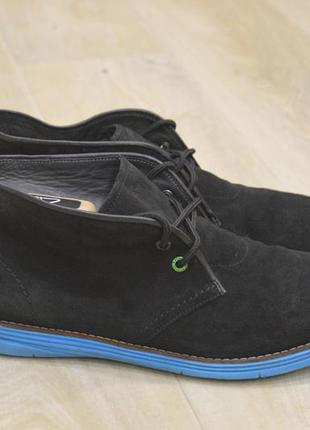Hugo boss desert boots мужские дезерты туфли ботинки замша ори...