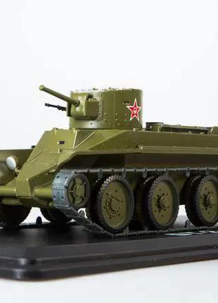 Модель БТ-2 Танки Модимио 1:43