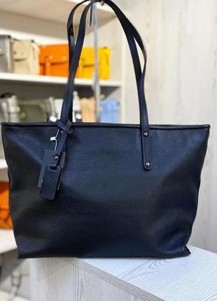 Женская кожаная сумка италия шоппер люкс натуральная кожа